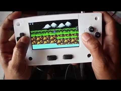 Raspberry pi 3 portable game console