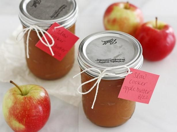 Slow Cooker Apple Butter - Betty Crocker Colleen's note; I'm going to...