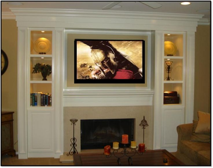 Fireplace entertainment center living room pinterest for Living room entertainment centers
