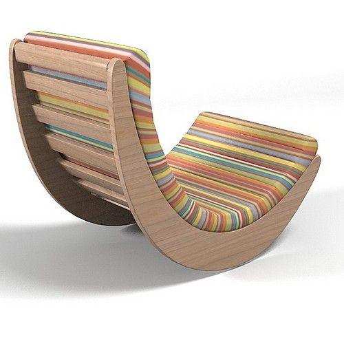 modern rocking chair plans  Ideen rund ums Haus  Pinterest