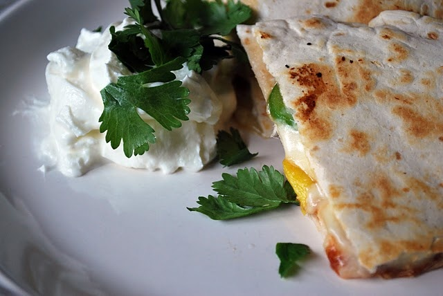 BBQ Pineapple Quesadilla. | Lunch Time | Pinterest