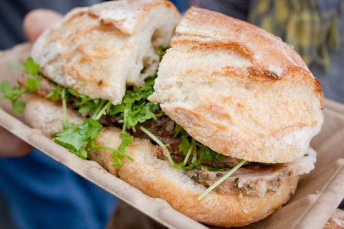 RoliRoti's Porchetta Sandwich | TV shows recipes | Pinterest