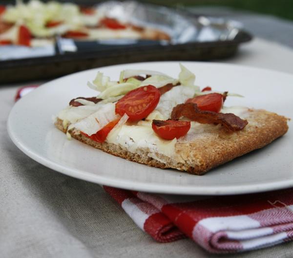 BLT Salad Pizza | Recipe