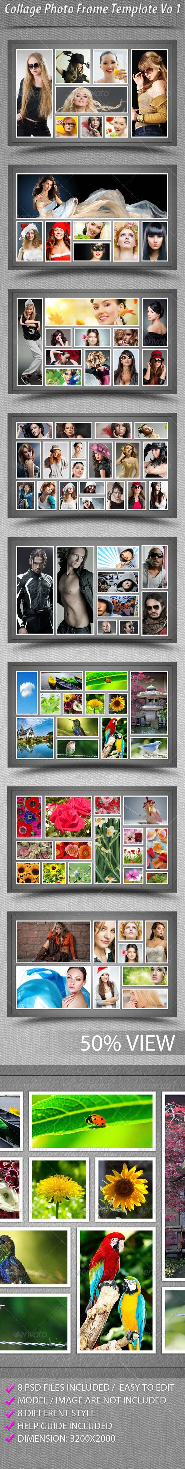 Photo collage template for word Canvas Prints UK - Huge range of Photo Canvas styles
