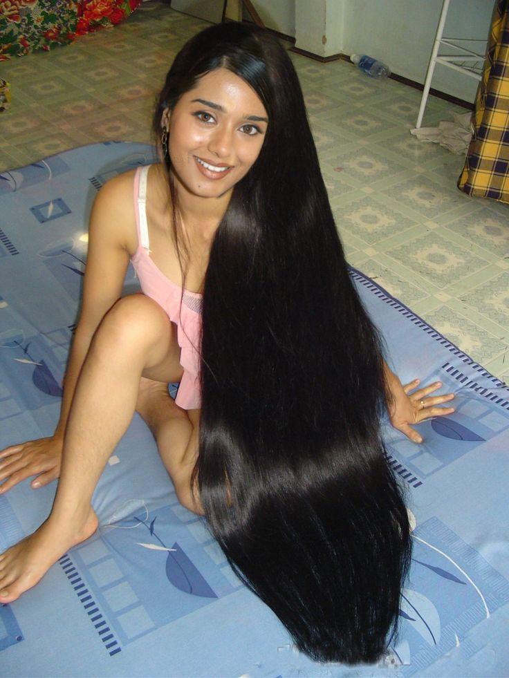 Long silky hair nude photos