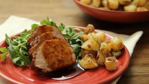 Quick and Easy Home Fries Allrecipes.com | recipes- savory | Pinterest