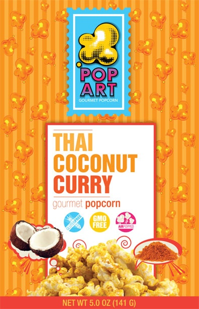 Thai Coconut Curry Popcorn....Most amazing thing I've ever ever ever ...