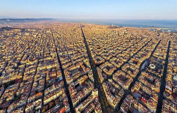 Barcelona from above e s p a a o l iii pinterest - Cubina barcelona ...