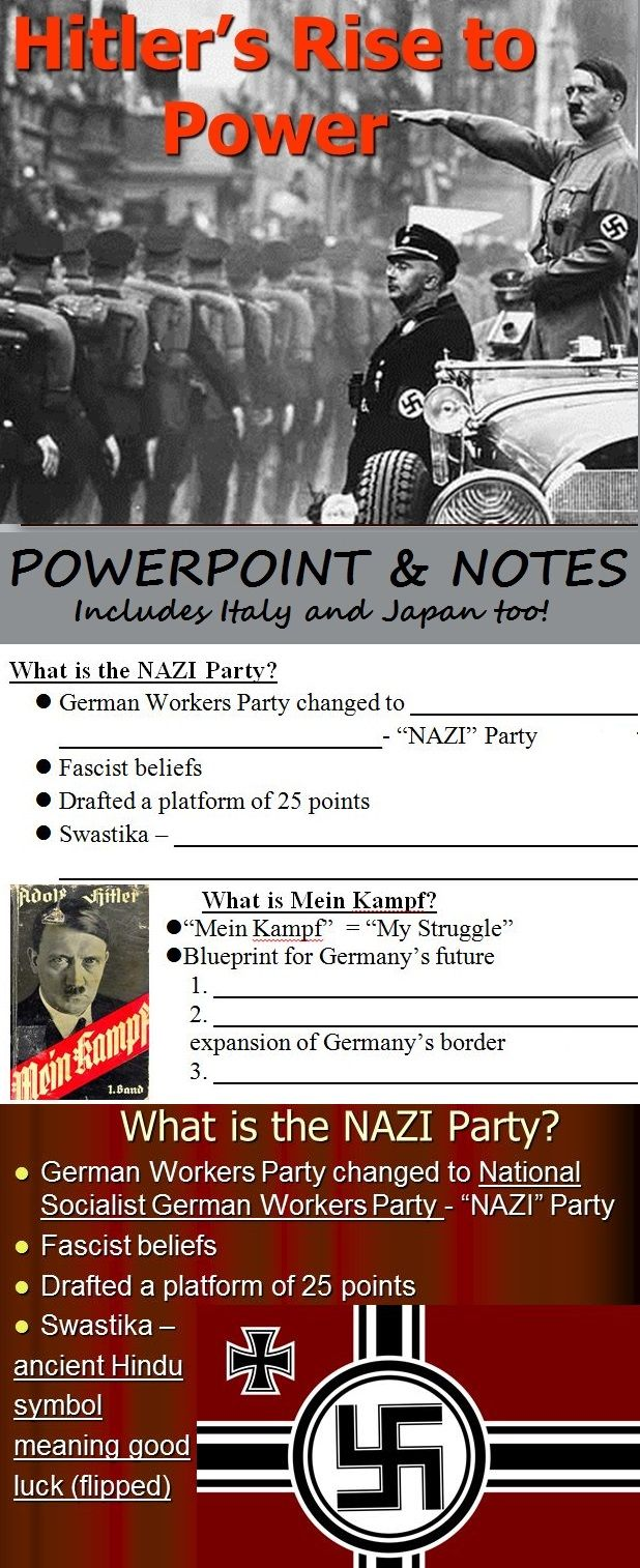 nazi rise to power essay You have not saved any essays in 1920, adolf hitler, an austrian born german, became the leader of the german workers' party later renamed the national socialist german workers' party (ie nazi party) after going through a number of events while trying to rise to power, finally in january 1933.