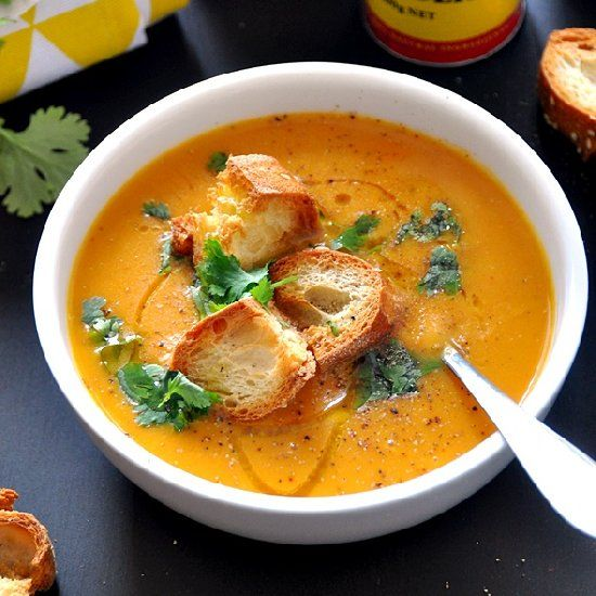 ... Soup - A vegan friendly, dairy free, delicious & hearty soup recipe