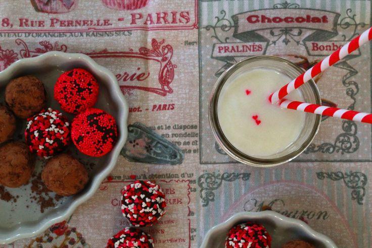 cocoa date truffles! // Dunk & Crumble | {The Ubiquitous Food Board ...
