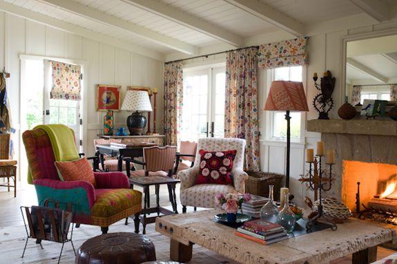 Horse Ranch Cottages Kathryn Ireland Interior Pinterest