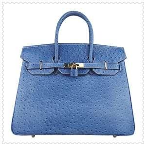 Hermes Birkin Bag 35CM Royal Blue Gold