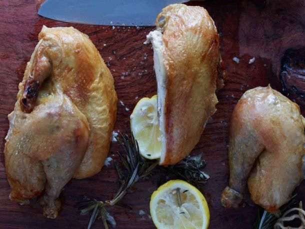 Jean-Georges Vongerichten's Crisp Savory Roast Chicken | Recipe