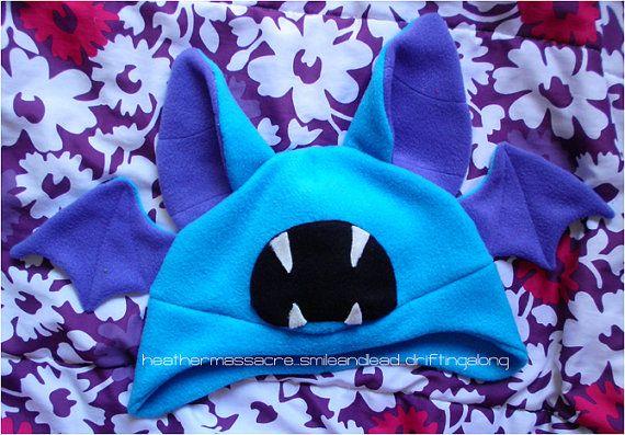 Pokemon Zubat Hat by herarlovesyou on Etsy, $27.00