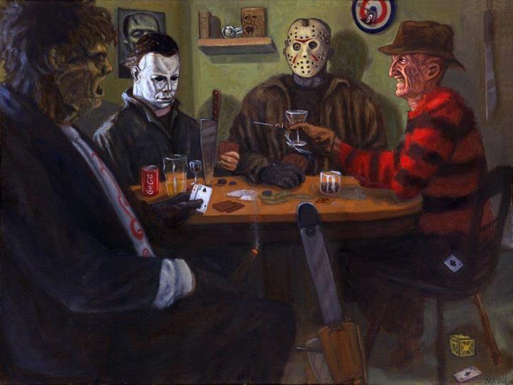Poker night horror