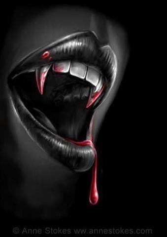 Vampire fangs halloween pinterest
