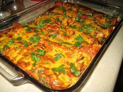 Simple, Perfect Enchiladas - Love to be in the Kitchen