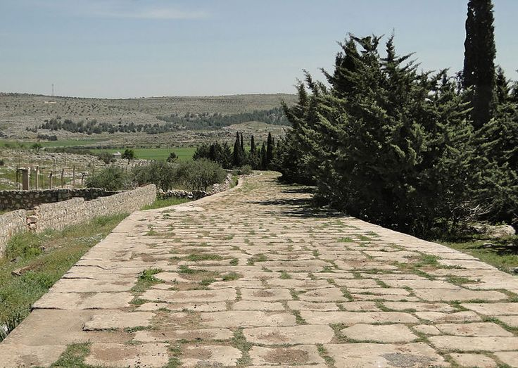 Ancient  road located in Syria which connected Antioch and Chalcis.