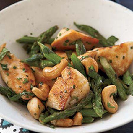 Chicken Stir-Fry with Asparagus and Cashews! #chicken #stirfry # ...