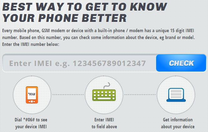 track iphone by imei no