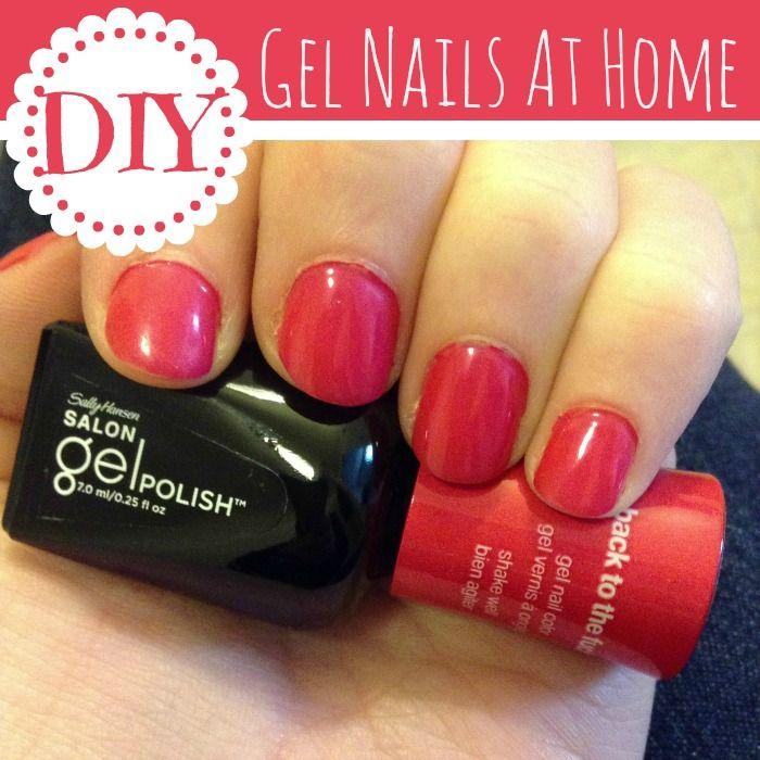 DIY Gel Nails At-Home {step-by-step tutorial}