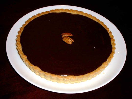 ... chocolate truffle pie recipes dishmaps ultimate chocolate truffle pie