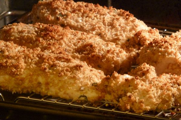 Crispy Baked Chicken Breast | Poultry recipes | Pinterest