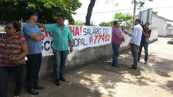 14/01/15 - Gurupi, TO: Fiscais em greve