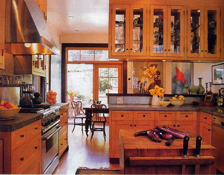 Double sided kitchen cabinets dream home pinterest for 1990 kitchen cabinets
