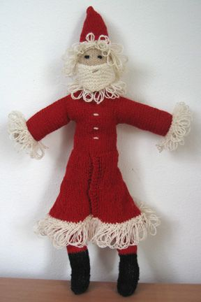 Knitted Father Christmas Pattern Free : Father Christmas knitting More Christmas Pinterest