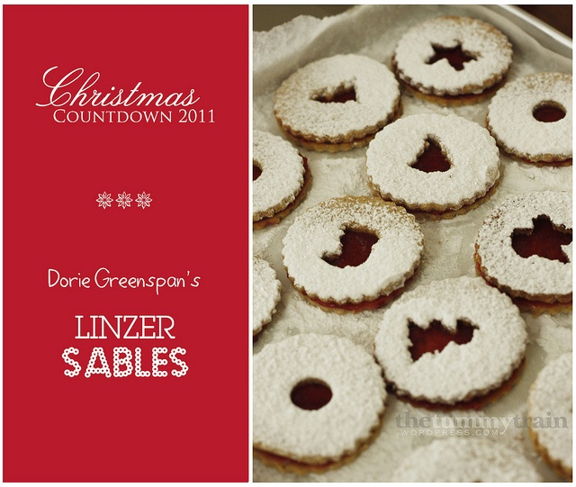 Linzer Sables | Biscotti and Ethnic Cookies | Pinterest