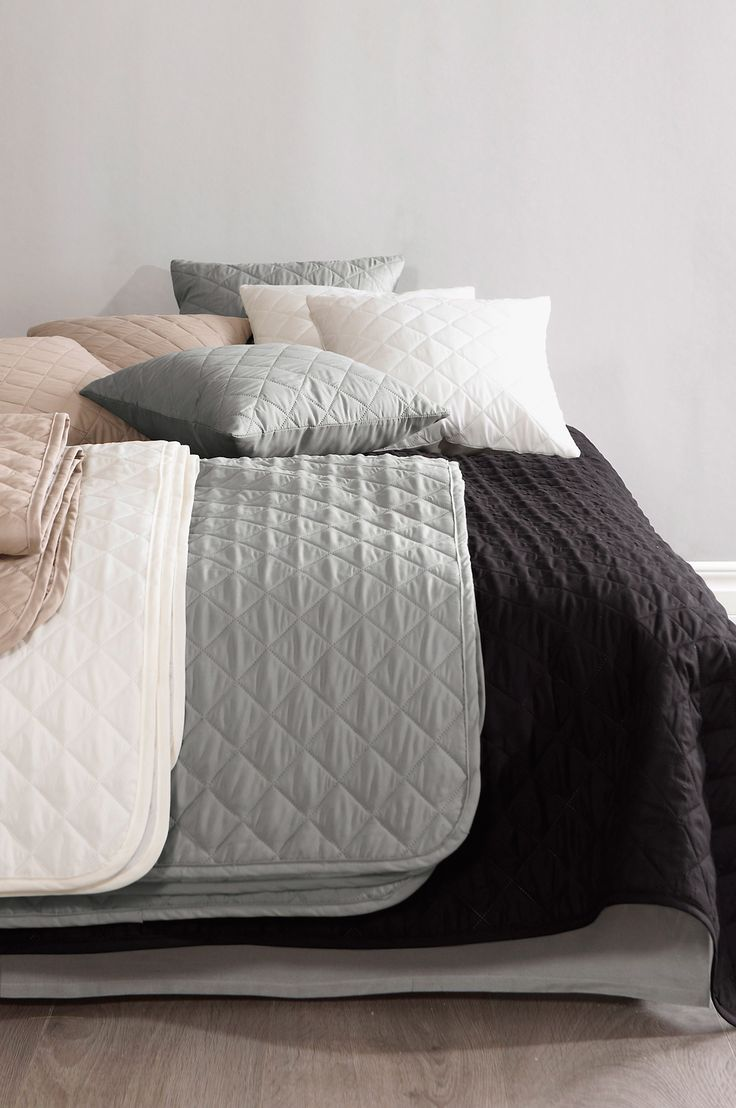Grey bedspread from Jotex