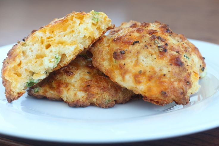 Cheddar and Scallion Drop Biscuits