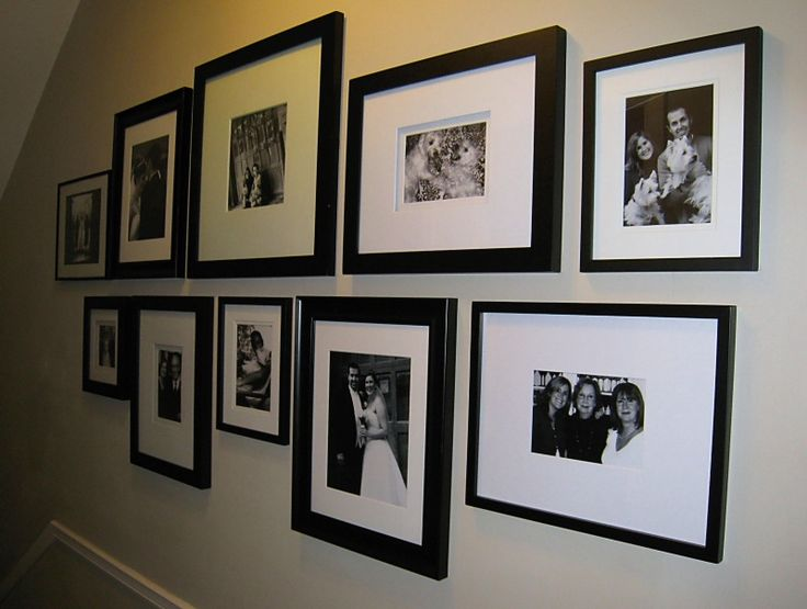 Wall Photo Frame Collage Home Pinterest