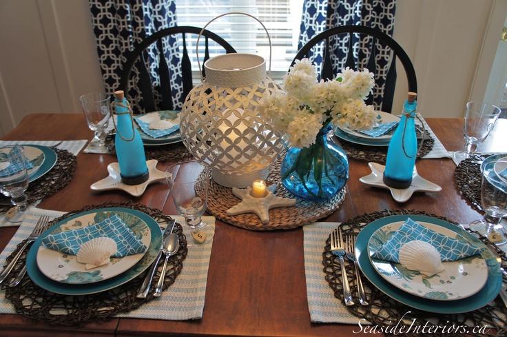 Summer Tablescape | Summer Ideas | Pinterest
