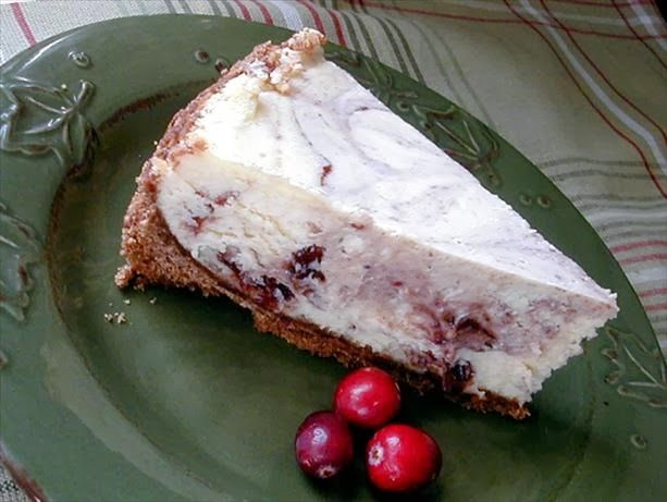Cranberry Cheesecake | Holiday Recipes | Pinterest
