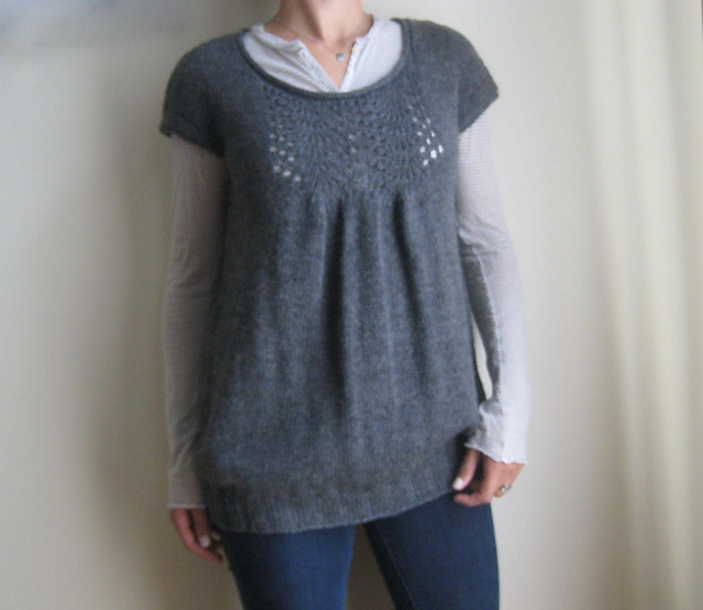 Knit tunic pattern -