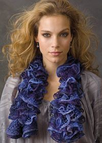 Ruffle Yarn Patterns - WEBS Yarn, Knitting Yarns, Knitting