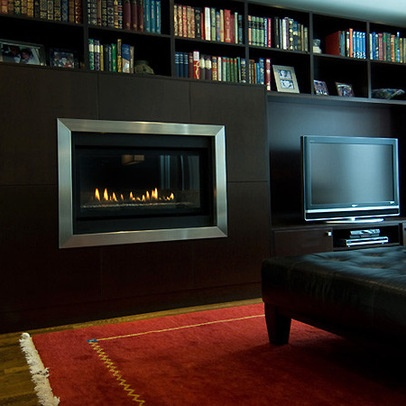 tv next to fireplace beach house family room pinterest