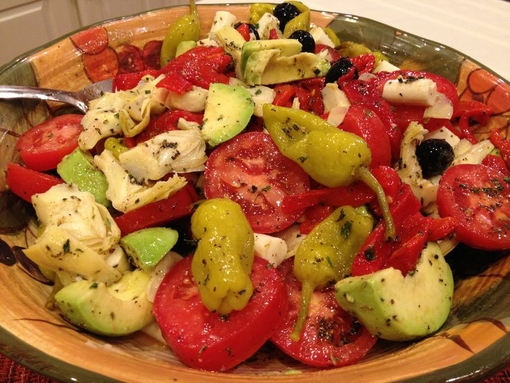 Antipasto Salad | recipes | Pinterest