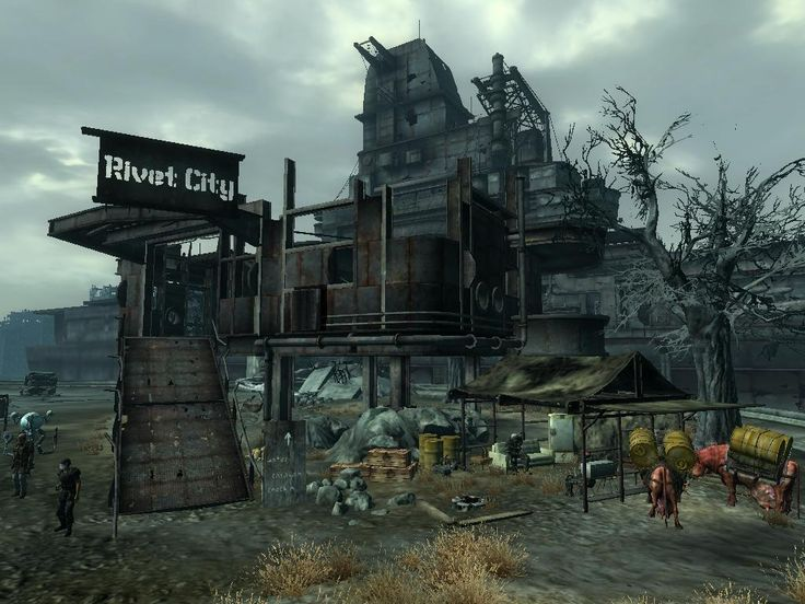 fallout 3 rivet city lucid dreaming installation pinterest