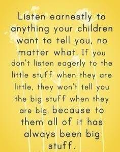 Great reminder for us moms!