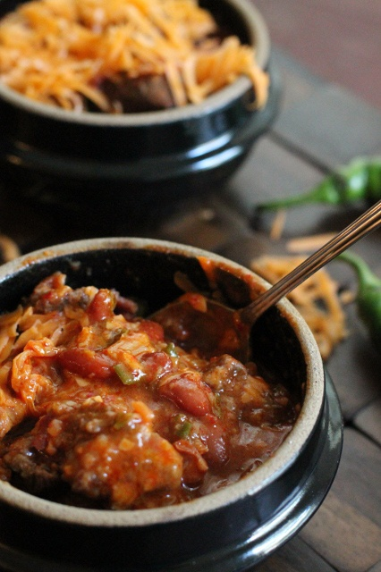 Korean Kimchi Chili and #SundaySupper Labor Day cook out | Crispy Bits ...