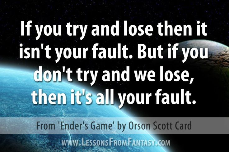 Leader Quotes From Enders Game. QuotesGram