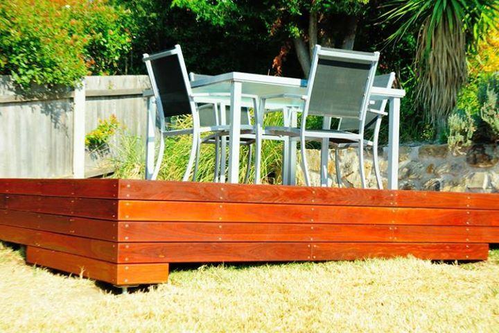 Viewalongtheway Backyard : How to build a deck  Backyard Blitz  Pinterest