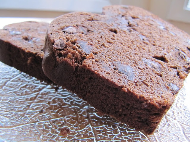 Double Chocolate Banana Loaf.. it's in the oven right now and it ...