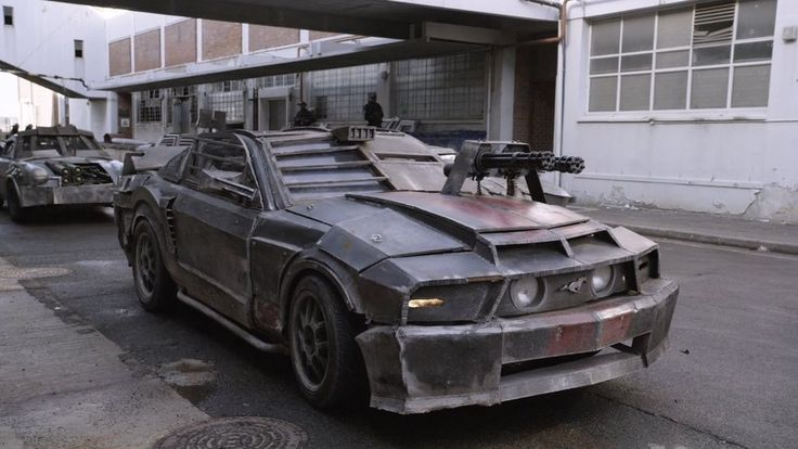 "Death Race Mustang | ""Put me behind the wheel of that ..."