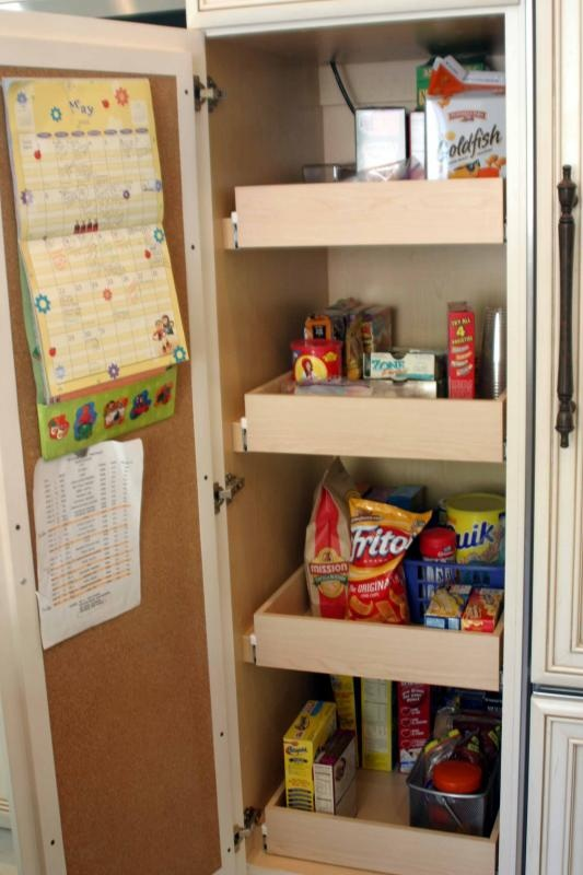 Roll out pantry shelves dream home pinterest - Roll out shelving for pantry ...