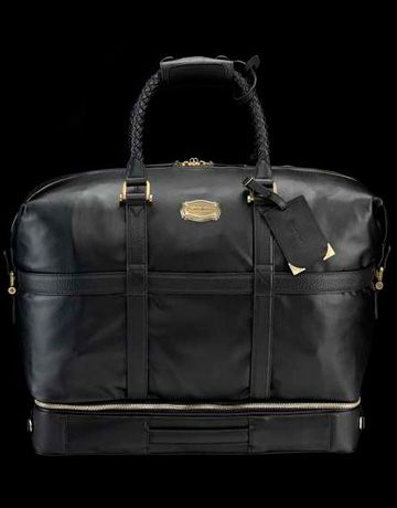 samsonite black label garment bag by alexander mcqueen